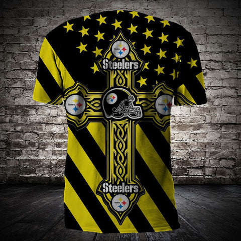 PITTSBURGH STEELERS MEN'S CLASSIC 3D T-SHIRT