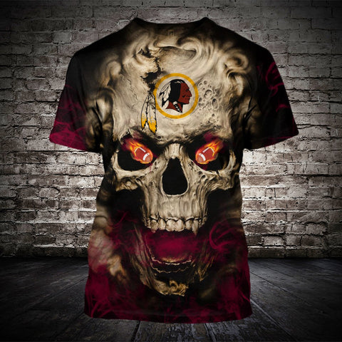 WASHINGTON REDSKINS MEN'S CLASSIC 3D T-SHIRT