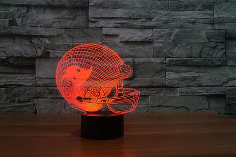 TAMPA BAY BUCCANEERS 3D LED LIGHT LAMP