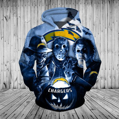 CHARGERS  3D HOODIE 3