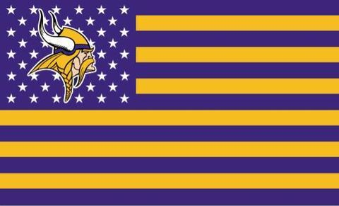 MINNESOTA VIKINGS FLAG 3×5 FT