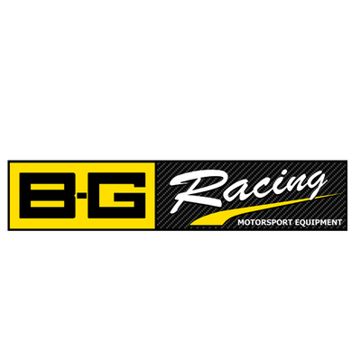 Logo B-G Racing équipement outillage sport automobile