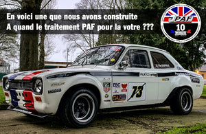 Photo Ford Escort MK1 de circuit et rallye