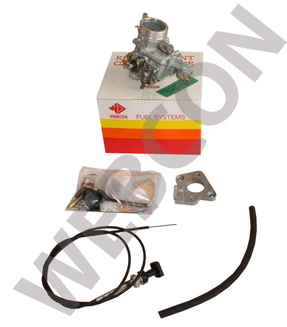 Kit Webcon Weber Conversion Carburateur Ford VV 2.0 OHC Ford Transit 1981-1986 Boite Manuelle