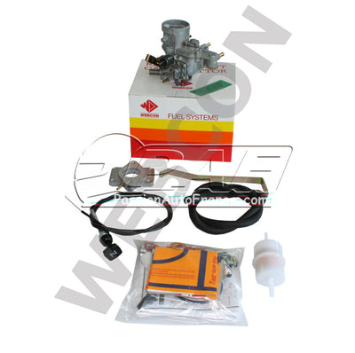 Kit Carburateur WEBER Conversion Carburateur Solex 31 PIC VW Golf 1.1  (1093cc) 1979-84 (pipe admission 4 boulons)