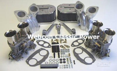 Kit Conversion 2 x Carburateurs WEBER 44 IDF71S Volkswagen Type 1 & Type 2 1600cc