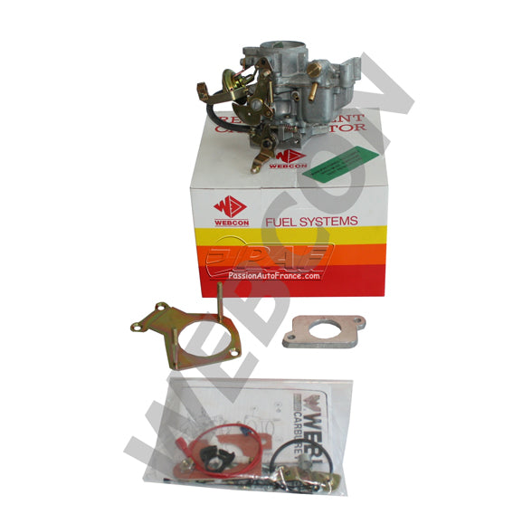 Kit Webcon Weber Conversion Ford Fiesta / Escort / Orion 1.4 (1392cc) CVH Boite Auto 1990-1991