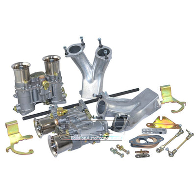 Kit Doubles Carburateurs Weber 48 IDA VW T1 et T2