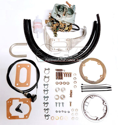 Kit Carburateur Weber Conversion Pierburg/Zenith 2B2/5 Audi 80 / Audi 100 / VW Passat 1.6 1975-1982