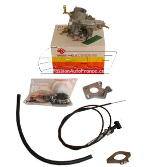 Kit Webcon Weber Conversion Carburateur Ford VV 2.0 OHC Ford Transit à partir de 1986 Boite manuelle