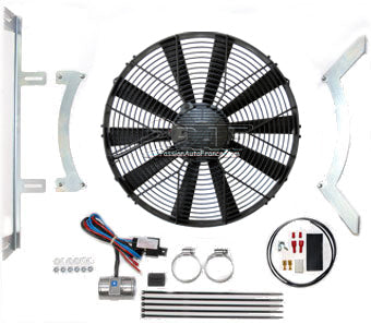Kit Ventilateur Revotec Jaguar E-Type Series 1, 3.8/4.2 Litre