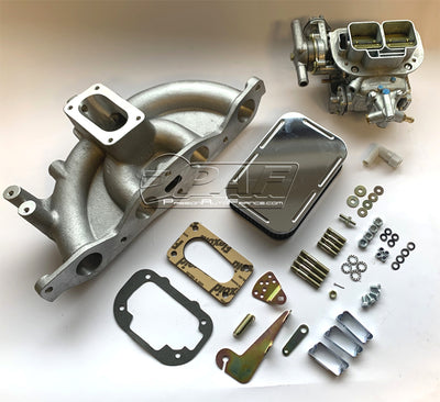 Kit conversion Ford Pinto 1.6/2.0 Carburateur WEBER 32/36DGAV