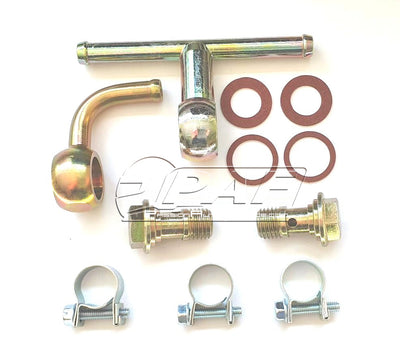 Kit Raccord Essence Banjo double Carburateurs WEBER DCOE DCO/SP