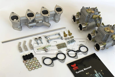 Kit conversion Double carburateurs WEBER 40 DCOE pour BMW 2002 et BMW E21 4 cylindres