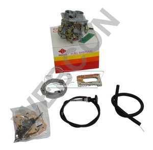 Kit conversion WEBER pour remplacement Carburateur Pierburg 2E3 Ford Sierra/Sapphire 1.8 (1796cc) CVH 1988 à 1992