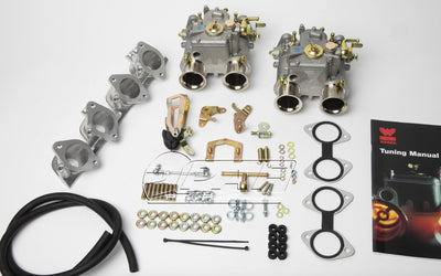 Kit conversion Double Carburateurs WEBER 40 DCOE pour Porsche 924 2.0 4 cylindres