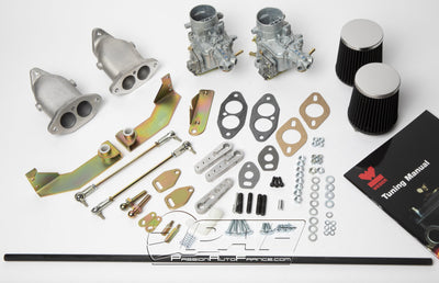 Kit Conversion 2 x Carburateurs WEBER 34 ICT Volkswagen Type 1 & Type 2