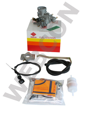 Kit conversion carburateur Weber VW Golf / Jetta 1.3 1980-84