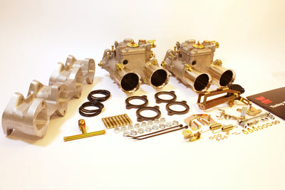 Kit conversion double Carburateurs WEBER 45 DCOE pour BMW M10 1.6L / 1.8L