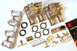 Kit conversion double Carburateurs WEBER 40 DCOE pour BMW M10 1.6L / 1.8L