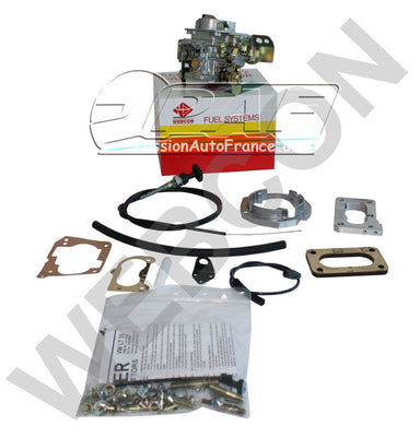 Kit conversion WEBER pour remplacement Carburateur Pierburg 2E3 VW LT 35 2.4 (2394cc) à partir de 1986
