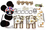 Kit Doubles Carburateurs WEBER 45 DCOE Volkswagen Golf 1.8/ 2.0 8v