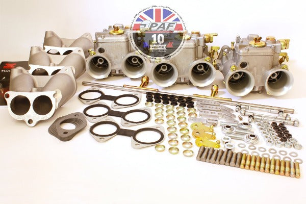 Kit Triple Carburateurs WEBER 45 DCOE Austin Healey 6 cylindres