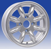 Jante Revolution 8 branches 8x13 Ford standard (4x108), Argent
