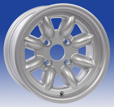Jante Revolution 8 branches 7x13 Ford Gp4 (4x108), Argent