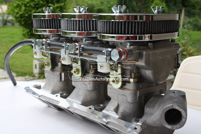 Kit Conversion Triple Carburateurs WEBER DCNF Ford V6 Cologne