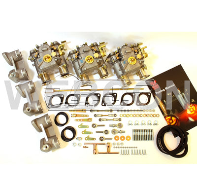 BMW M30 2.8 3.2 3.5 6cil Weber triple DCOE Kit