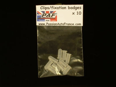 Clips Fixation Badges Ford Escort MK1 MK2, Ford Capri
