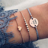 9 Style's Boho Bracelet Women Charm Party Wedding Jewelry Accessories