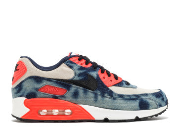 NIKE AIR MAX 90 INFRARED WASHED DENIM