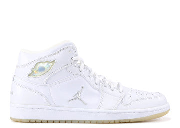 AIR JORDAN RETRO 1 WHITE SILVER 2002