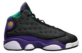 GIRLS AIR JORDAN RETRO 13 AQUA SOFT BOTTOM CB