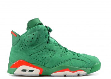 "AIR JORODAN 6 RETRO NRG G8RD ""GATORADE GREEN"""