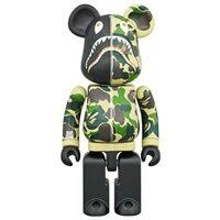 MEDICOM TOY CHOGOKIN ABC CAMO SHARK BE@RBRICK 200% BEARBRICK BAPE