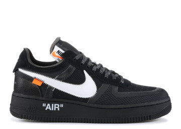 "THE 10: NIKE AIR FORCE 1 LOW ""OFF WHITE"" BLACK"