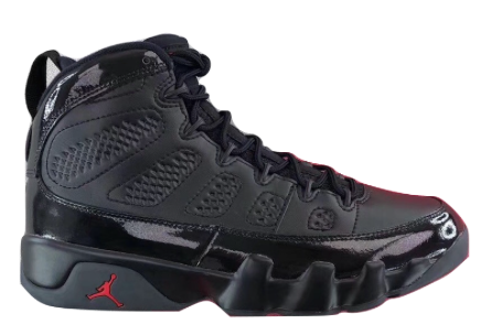 AIR JORDAN RETRO 9 BRED GS READY TO SHIP