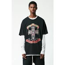 FEAR OF GOD FOG GUNS N ROSES BAND TEE