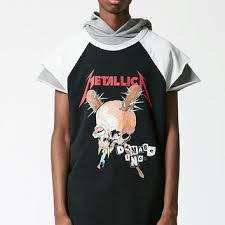 FEAR OF GOD FOG SLEEVELESS METALLICA TEE