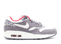 WMNS AIR MAX 1 GREY LEOPARD