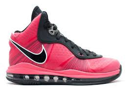 NIKE LEBRON 8 V2 HOT PINK GS
