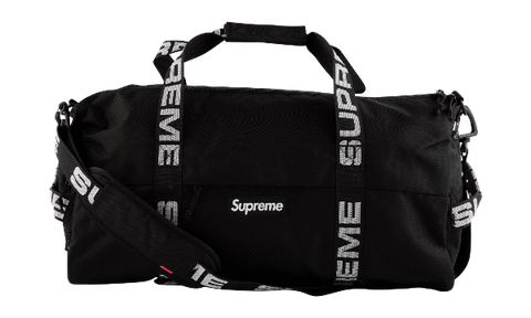 SUPREME DUFFLE BAG SMALL BLACK