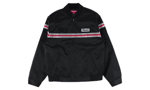SUPREME REFLECTIVE STRIPE WORK JACKET