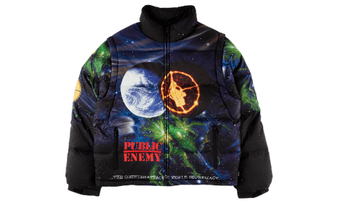 SUPREME UDC PUBLIC ENEMY PUFFY JACKET