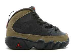 AIR JORDAN RETRO 9 OLIVE 2002 TODDLER TD
