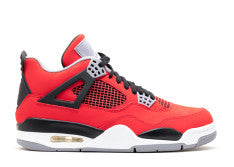 AIR JORDAN RETRO 4 RED TORO SOFT BOTTOM CRIB CB