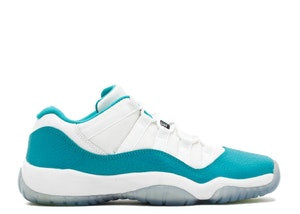 AIR JORDAN RETRO 11 LOW TURBO GREEN PRESCHOOL PS